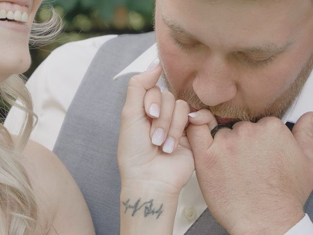 The wedding of Brandon and Liz