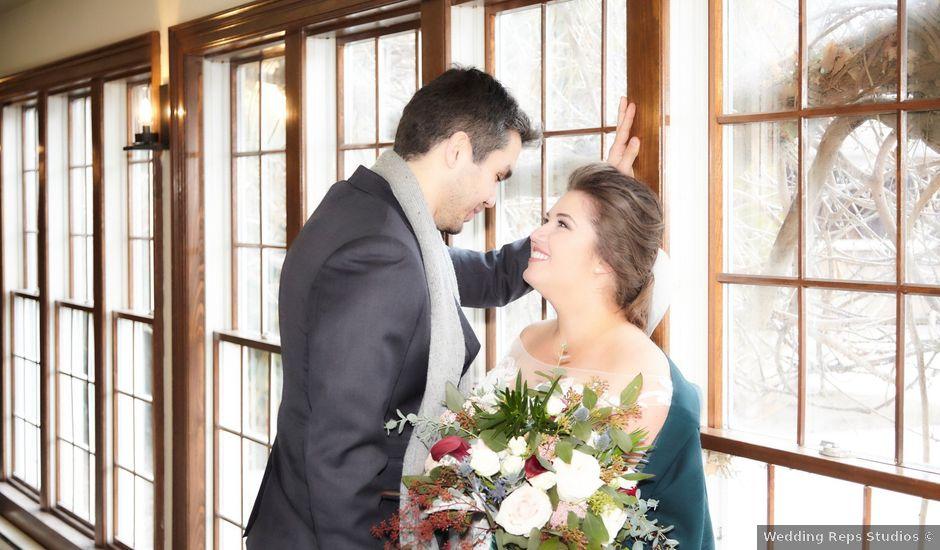 Dim and Alanda's wedding in Niagara on the Lake, Ontario