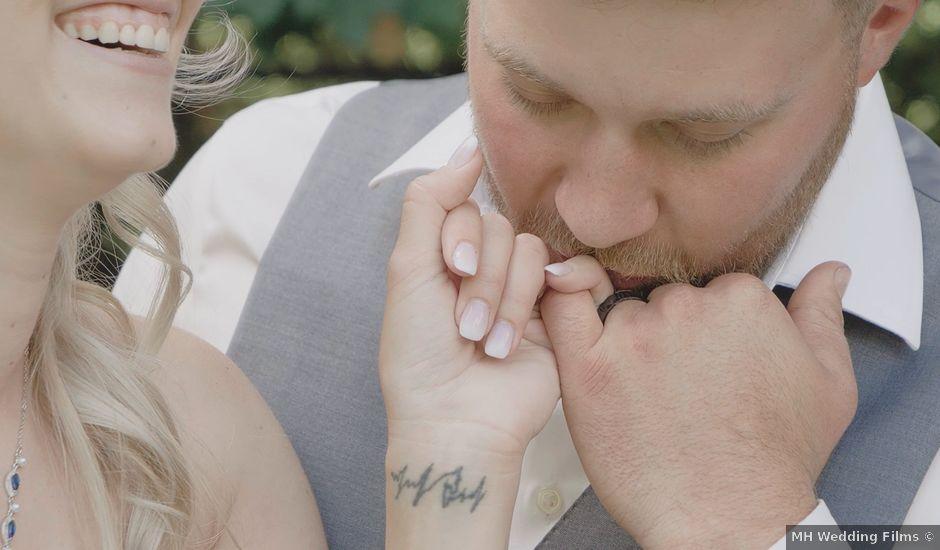 Liz and Brandon's wedding in Guelph, Ontario