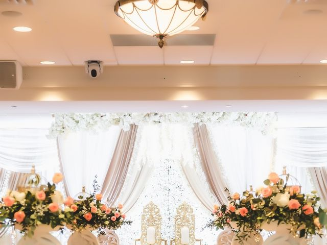 Manhar and Jessica's wedding in Mississauga, Ontario 4