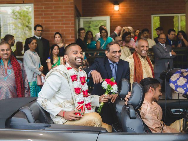 Manhar and Jessica's wedding in Mississauga, Ontario 7