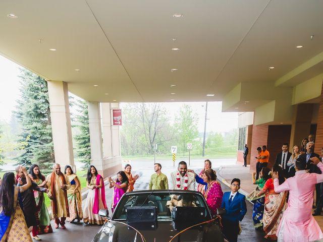 Manhar and Jessica's wedding in Mississauga, Ontario 8