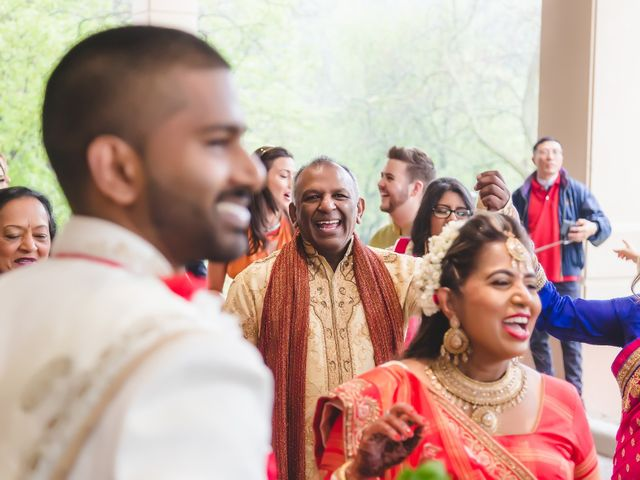 Manhar and Jessica's wedding in Mississauga, Ontario 9