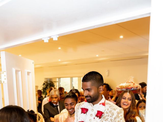 Manhar and Jessica's wedding in Mississauga, Ontario 13