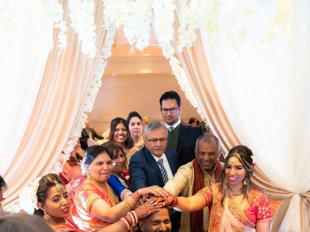 Manhar and Jessica's wedding in Mississauga, Ontario 15