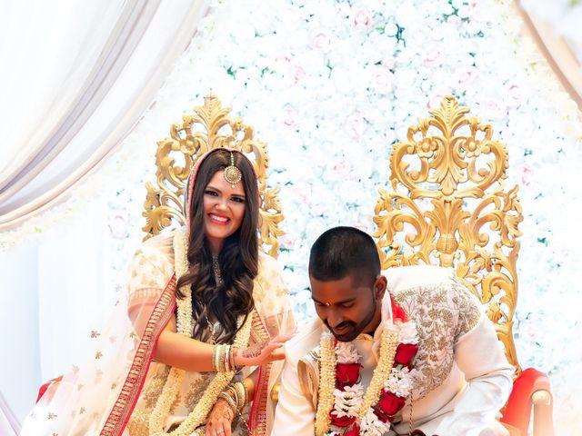 Manhar and Jessica's wedding in Mississauga, Ontario 16