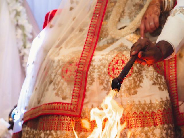 Manhar and Jessica's wedding in Mississauga, Ontario 17