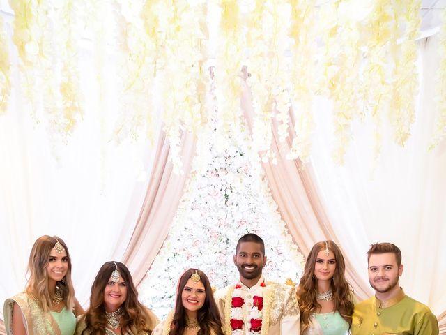 Manhar and Jessica's wedding in Mississauga, Ontario 18