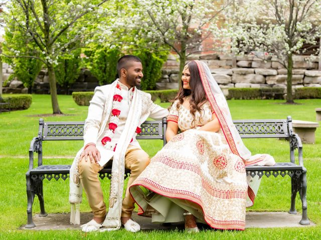 Manhar and Jessica's wedding in Mississauga, Ontario 19
