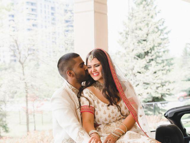 Manhar and Jessica's wedding in Mississauga, Ontario 22