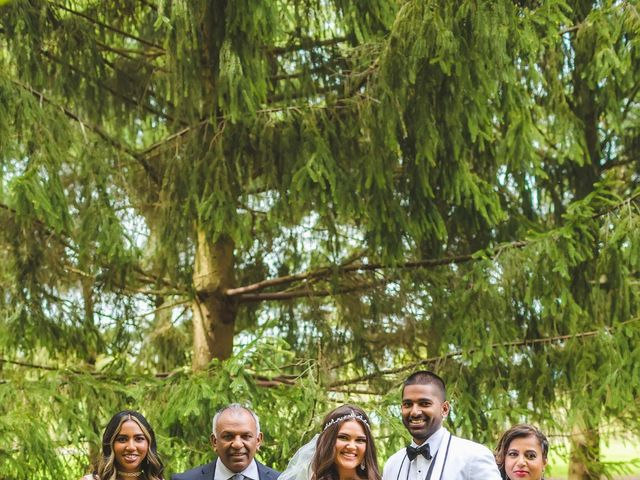 Manhar and Jessica's wedding in Mississauga, Ontario 48