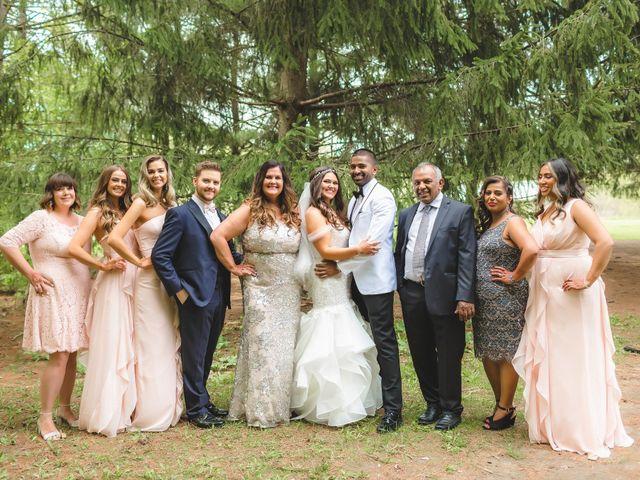 Manhar and Jessica's wedding in Mississauga, Ontario 49