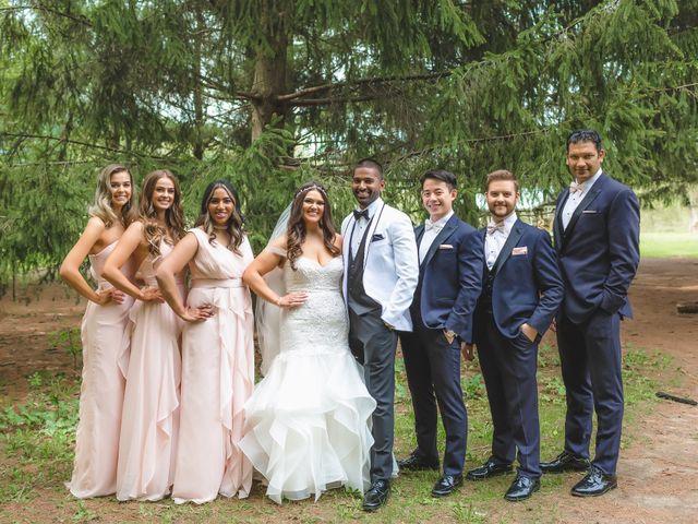Manhar and Jessica's wedding in Mississauga, Ontario 50