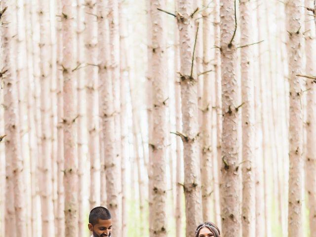 Manhar and Jessica's wedding in Mississauga, Ontario 55
