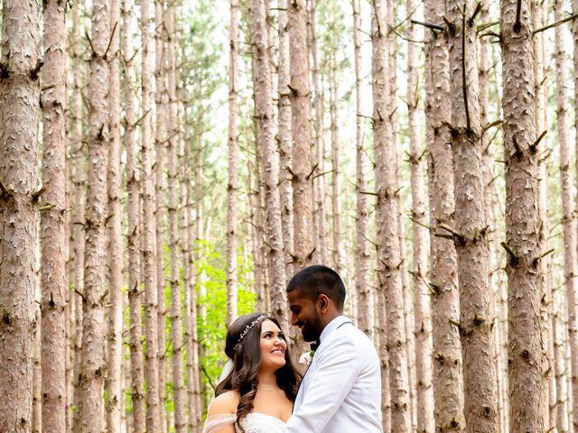 Manhar and Jessica's wedding in Mississauga, Ontario 58
