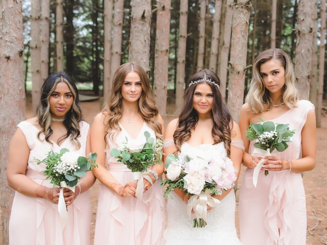 Manhar and Jessica's wedding in Mississauga, Ontario 62