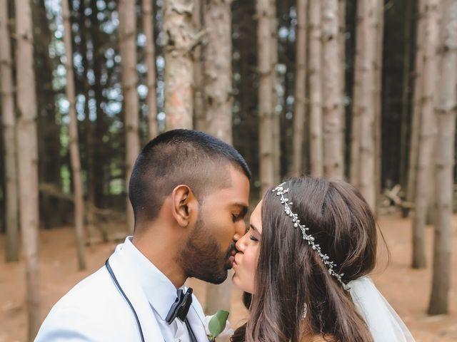 Manhar and Jessica's wedding in Mississauga, Ontario 63