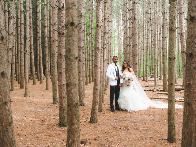 Manhar and Jessica's wedding in Mississauga, Ontario 64
