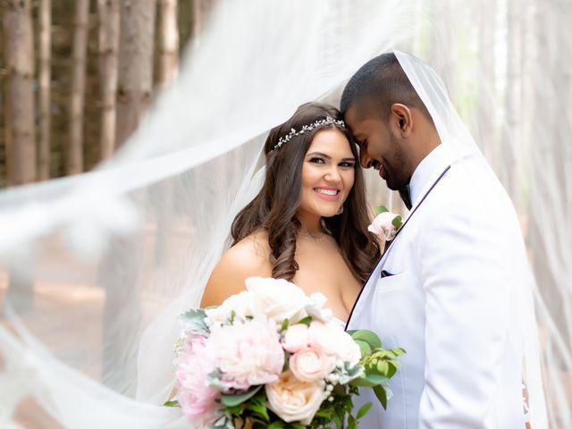 Manhar and Jessica's wedding in Mississauga, Ontario 66