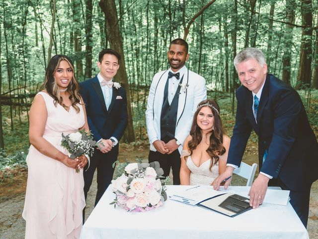 Manhar and Jessica's wedding in Mississauga, Ontario 82