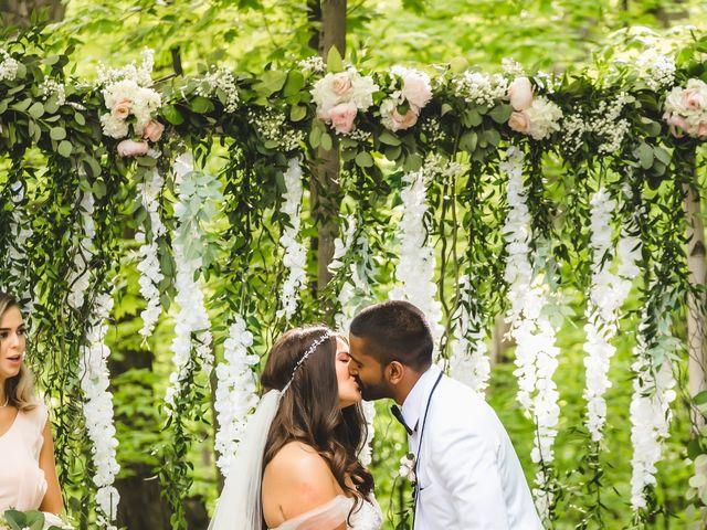 Manhar and Jessica's wedding in Mississauga, Ontario 90