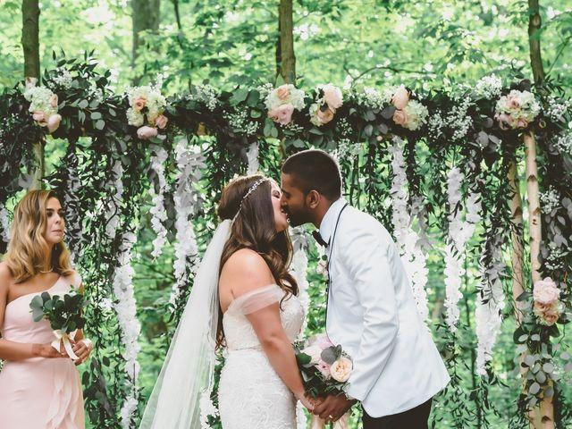 Manhar and Jessica's wedding in Mississauga, Ontario 91