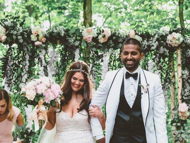 Manhar and Jessica's wedding in Mississauga, Ontario 92