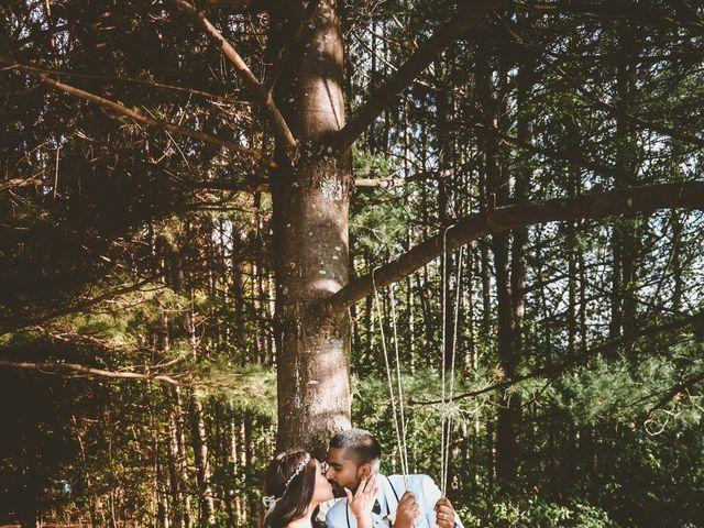 Manhar and Jessica's wedding in Mississauga, Ontario 1