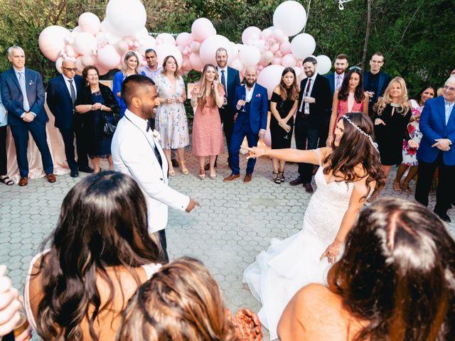 Manhar and Jessica's wedding in Mississauga, Ontario 109