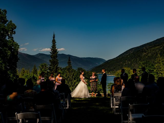Brian and Megan's wedding in Nelson, British Columbia 2