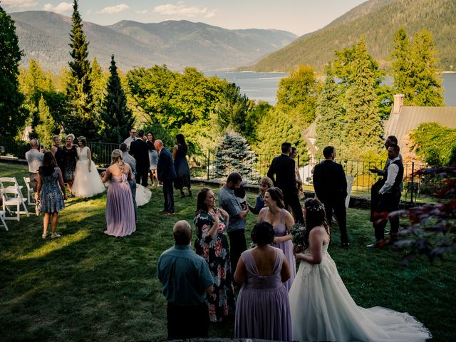 Brian and Megan's wedding in Nelson, British Columbia 32