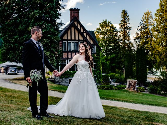 Brian and Megan's wedding in Nelson, British Columbia 38