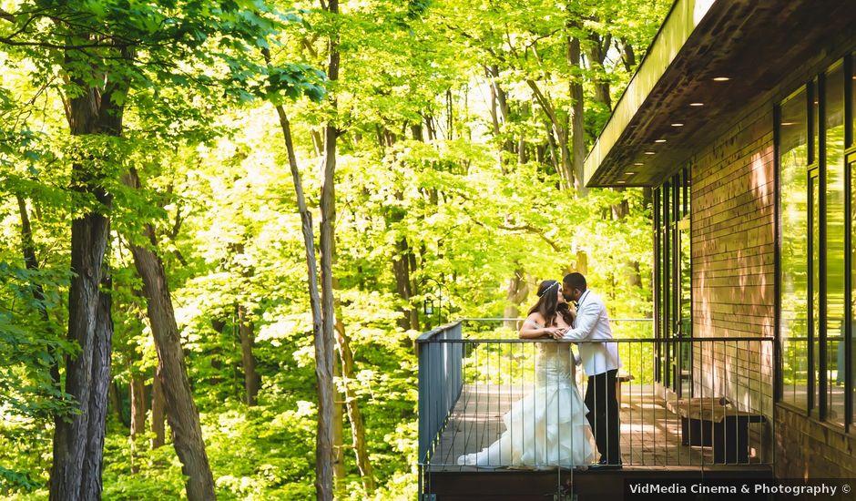 Manhar and Jessica's wedding in Mississauga, Ontario