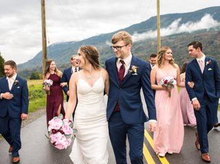 The wedding of Zac and Kayla