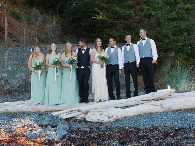 Jake and Erin's wedding in Nanaimo, British Columbia 91