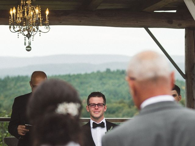 Nick and Amy's wedding in Wakefield, Quebec 31