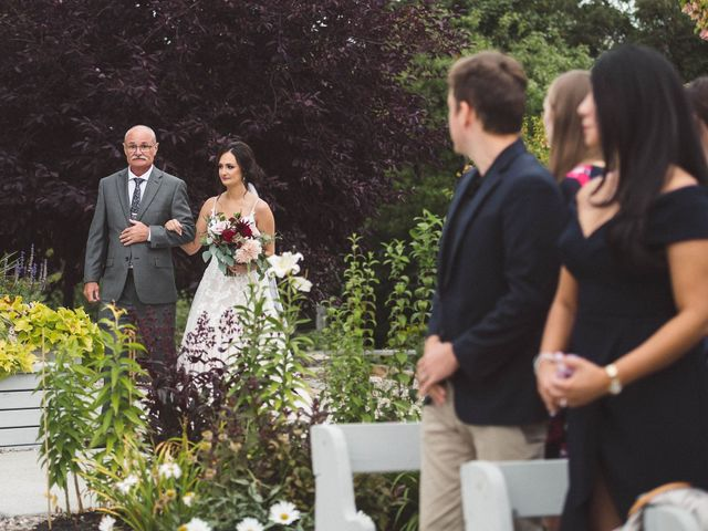 Nick and Amy's wedding in Wakefield, Quebec 32