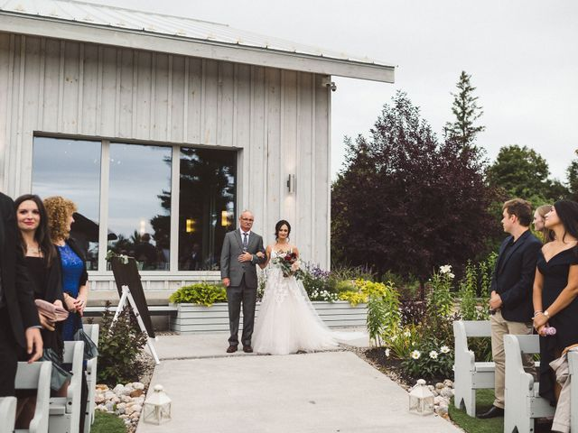 Nick and Amy's wedding in Wakefield, Quebec 33
