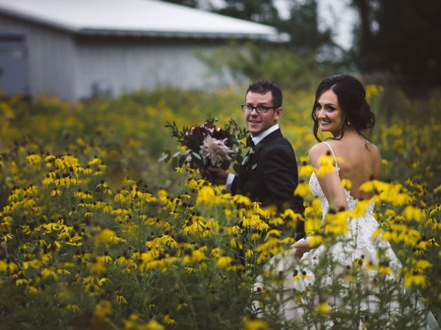 Nick and Amy's wedding in Wakefield, Quebec 61