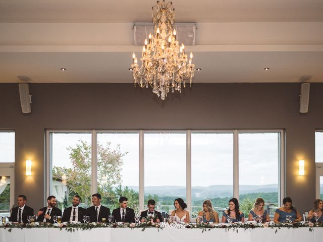 Nick and Amy's wedding in Wakefield, Quebec 74