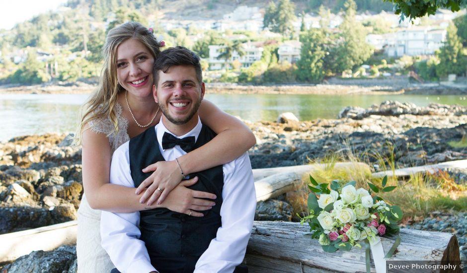 Jake and Erin's wedding in Nanaimo, British Columbia