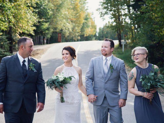 Steve and Kelsey's wedding in Waskesiu Lake, Saskatchewan 2