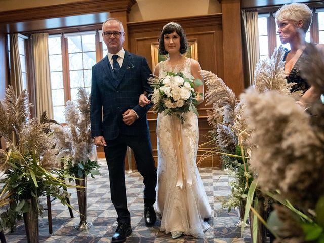 Kyle and Ainsley's wedding in Niagara on the Lake, Ontario 1