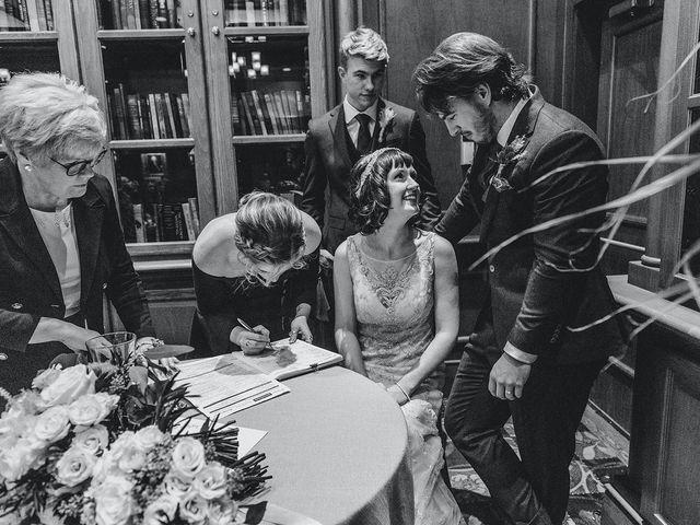 Kyle and Ainsley's wedding in Niagara on the Lake, Ontario 4