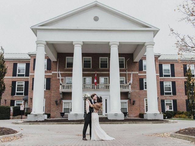 Kyle and Ainsley's wedding in Niagara on the Lake, Ontario 45