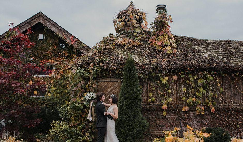 Kyle and Ainsley's wedding in Niagara on the Lake, Ontario