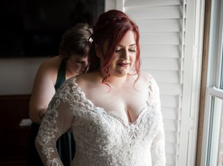 The wedding of Josie and Mark 2