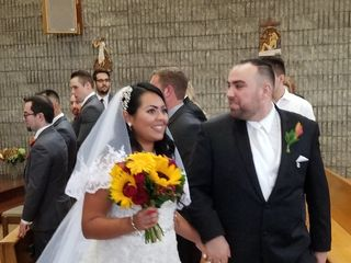 The wedding of Gina  and Kevin 1