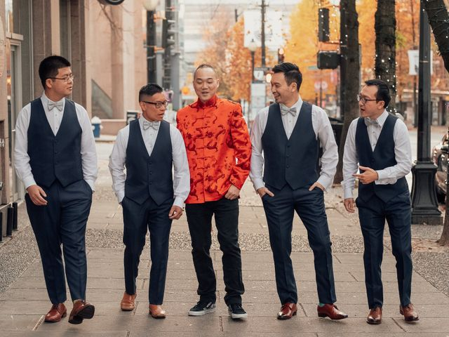 Patrick and Karin's wedding in Vancouver, British Columbia 5