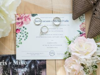 The wedding of Juris and Mike 2